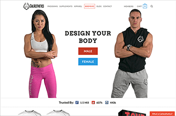 CalAesthetics.co Preview