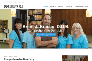 DrBrentBracco.com Preview