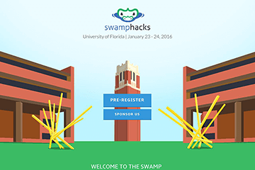 SwampHacks.com Preview