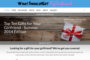 WhatShouldIGetMyGirlfriend.com Preview